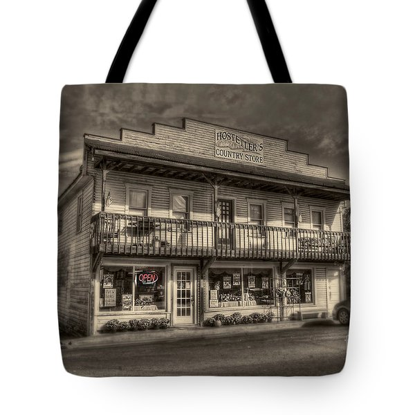 Country Store Open Tote Bag by Dan Friend