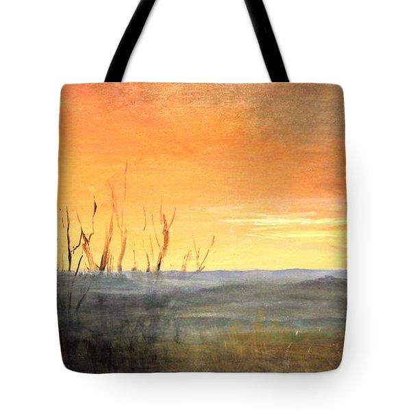 Country Sunset Jo Daviess Tote Bag
