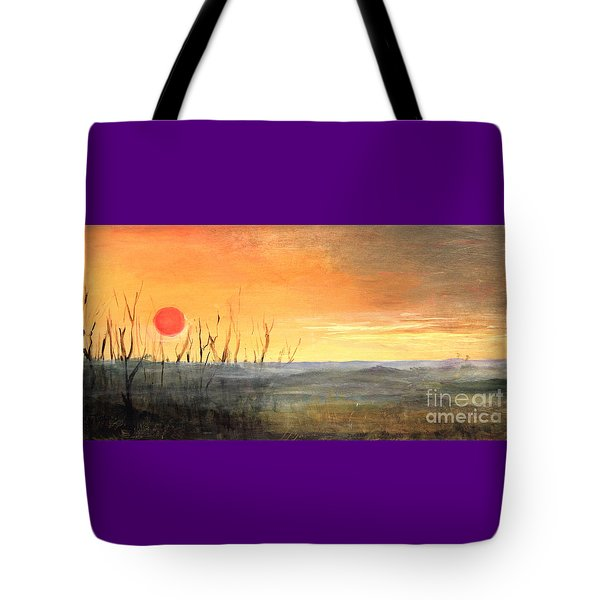 Country Sunset Jo Daviess Tote Bag