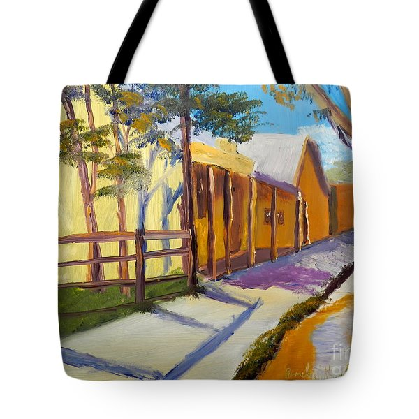 Country Village Tote Bag