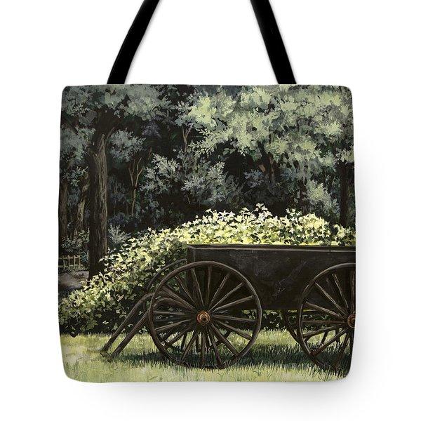 Country Wagon Tote Bag