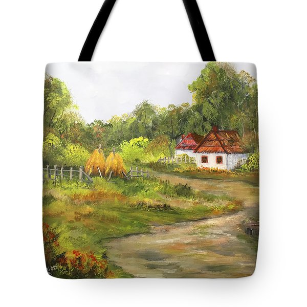Countryside Living Tote Bag by Dorothy Maier