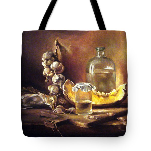 Countryside Still Life 2 Tote Bag by Mikhail Savchenko