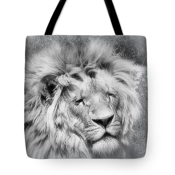 Courage Tote Bag by Karen Shackles
