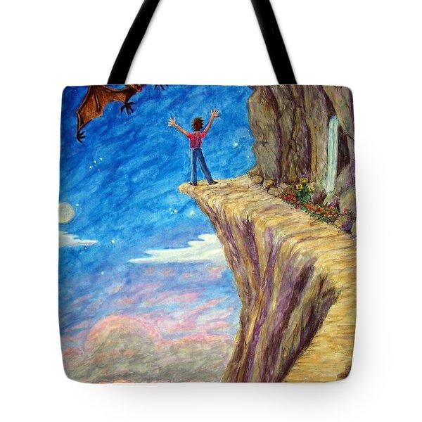 Courage Tote Bag by Matt Konar