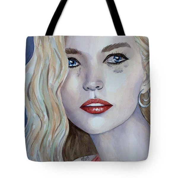 Courage To Cry Tote Bag