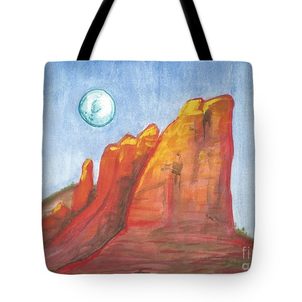 Court House Butte  Tote Bag