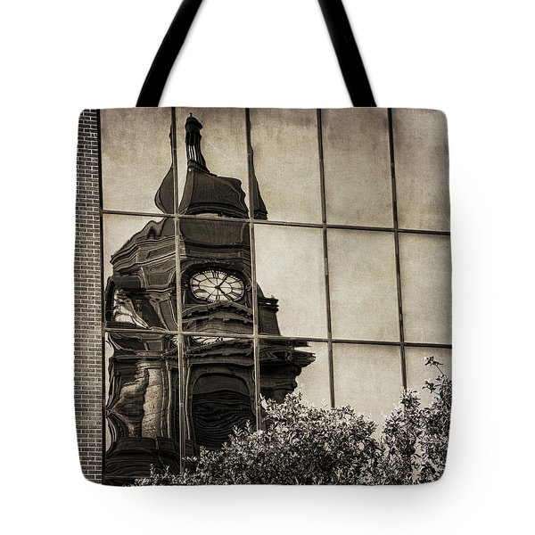 Courthouse Reflections Tote Bag
