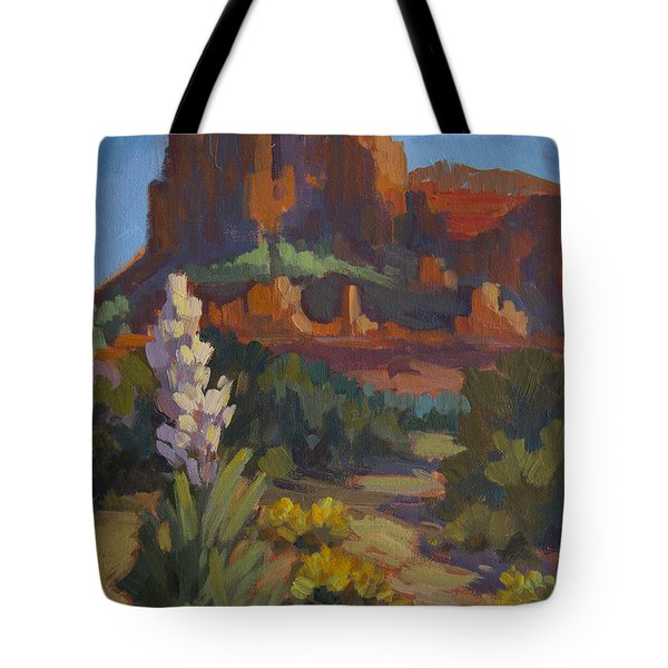 Courthouse Rock Sedona Tote Bag