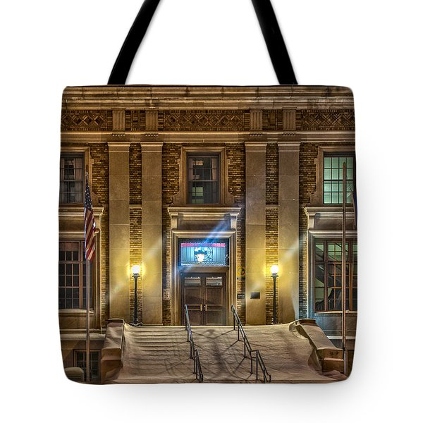 Courthouse Steps Tote Bag by Paul Freidlund