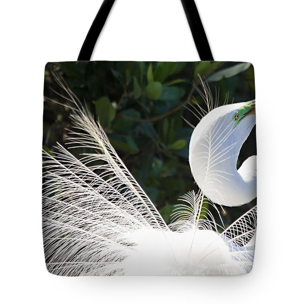 Courting Dance Tote Bag