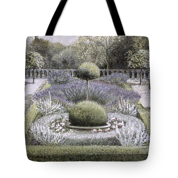 Courtyard Garden Tote Bag by Ariel Luke