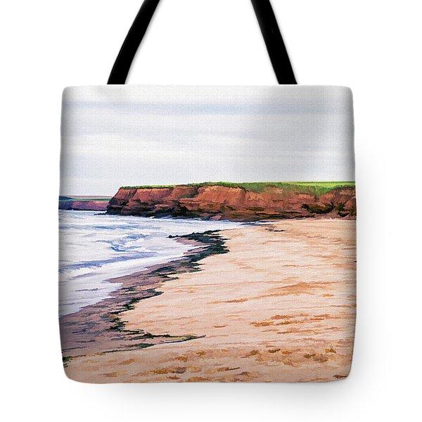 Cousins Shore Prince Edward Island Tote Bag by Edward Fielding