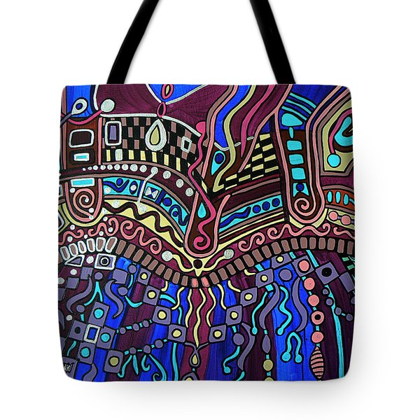 Tote Bag featuring the painting Couture by Barbara St Jean