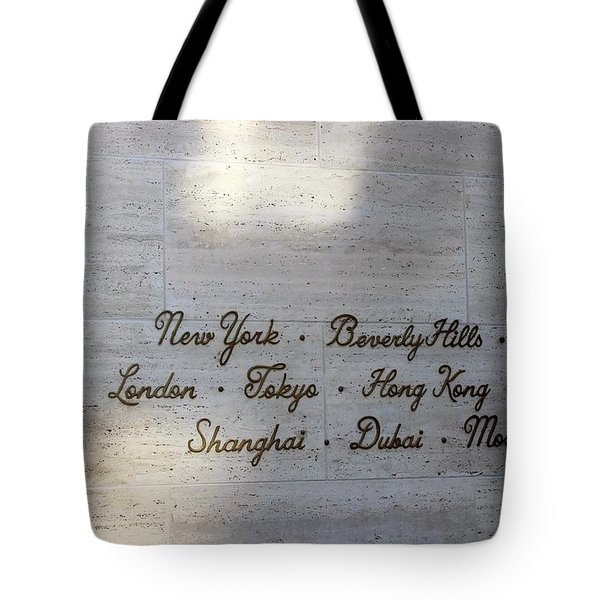 Couture Sign Tote Bag
