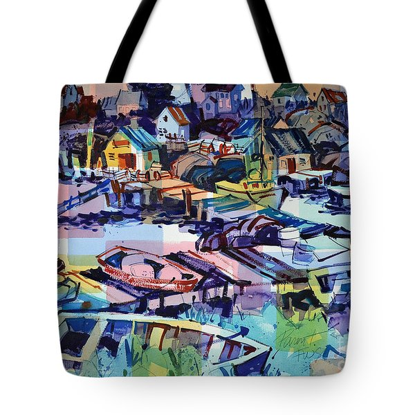 Peggy's Cove Late Afternoon Tote Bag