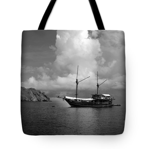 Tote Bag featuring the photograph Cove  by Sergey Lukashin