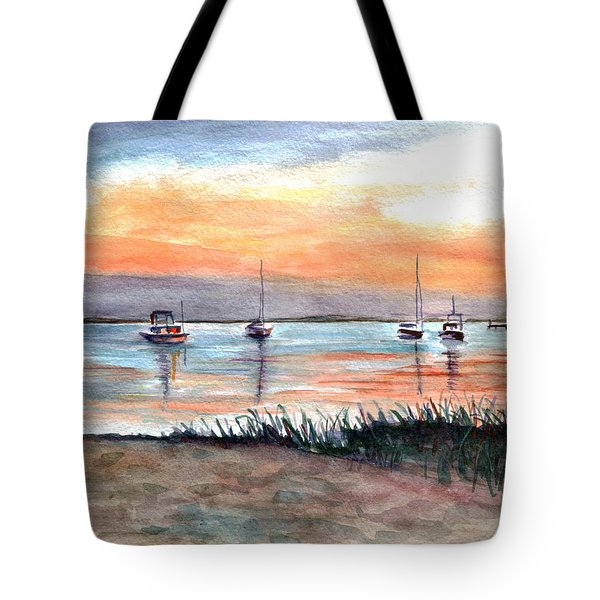 Cove Sunrise Tote Bag