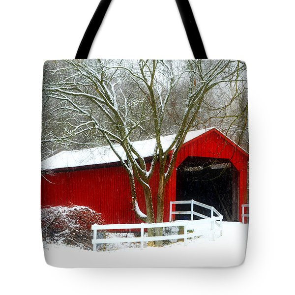 Cover Bridge Beauty Tote Bag