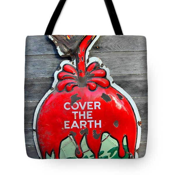 Cover The Earth Tote Bag