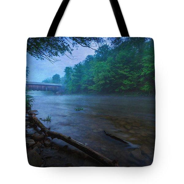 Covered Bridge  Tote Bag by Everet Regal