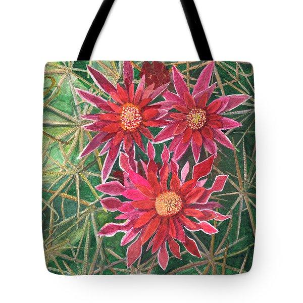 Coville Barrel Blossoms Tote Bag