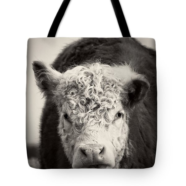 Cow Tote Bag by Edward Fielding
