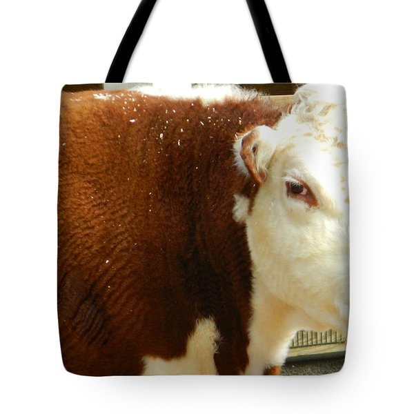 Cow Lickin' Good Tote Bag