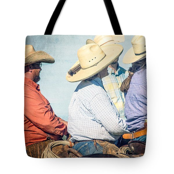 Tote Bag featuring the photograph Cowboy Colors by Steven Bateson