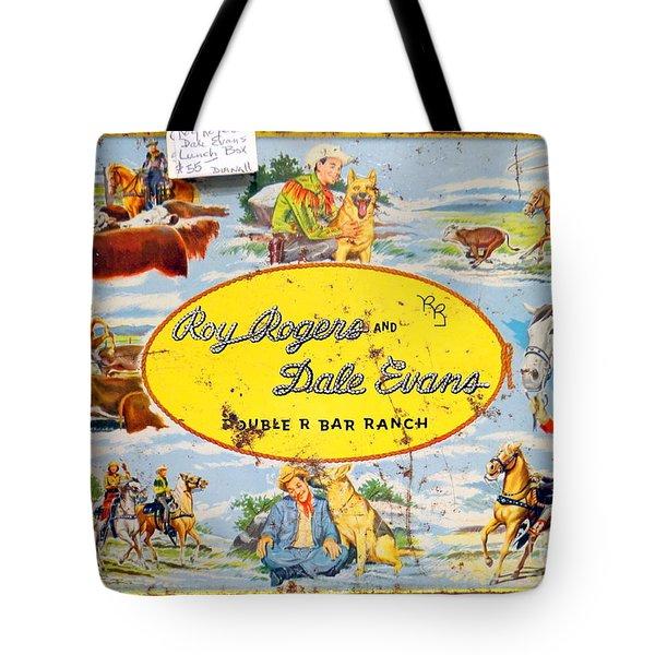 Cowboy Lunchbox Tote Bag