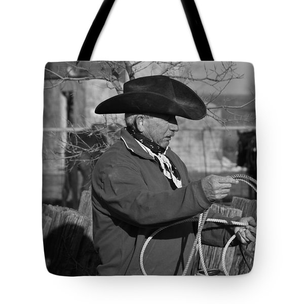 Cowboy Signature 14 Tote Bag by Diane Bohna