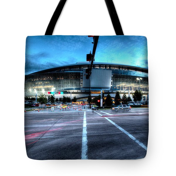 Cowboys Stadium Pregame Tote Bag