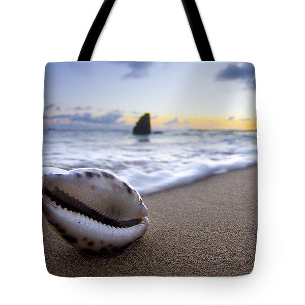 Cowrie Sunrise Tote Bag