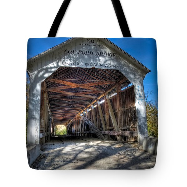 Cox Ford Covered Bridge Tote Bag