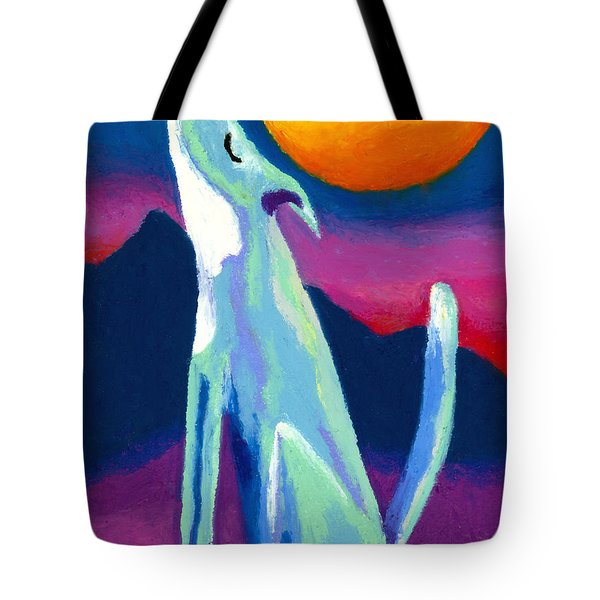 Coyote Azul Tote Bag by Stephen Anderson