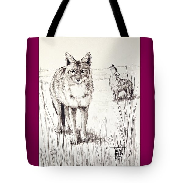 Coyote Life Tote Bag