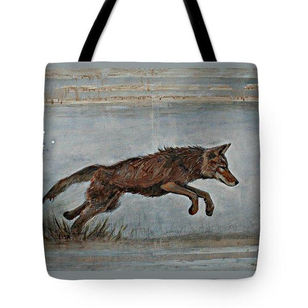 Coyote Ll Tote Bag