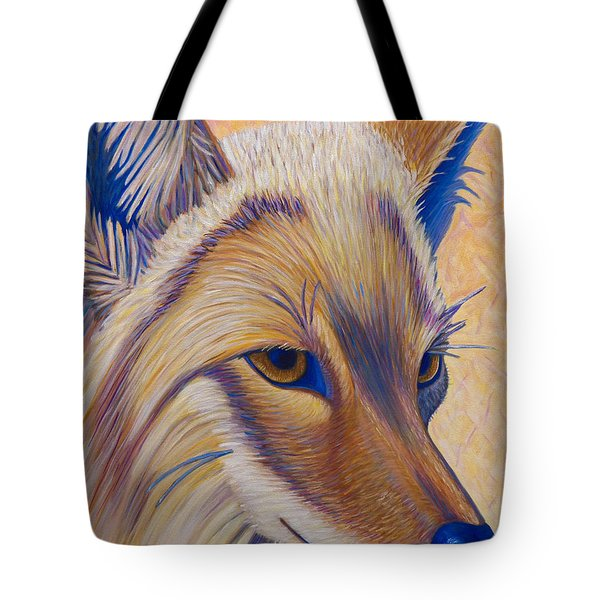 Coyote Summer Tote Bag