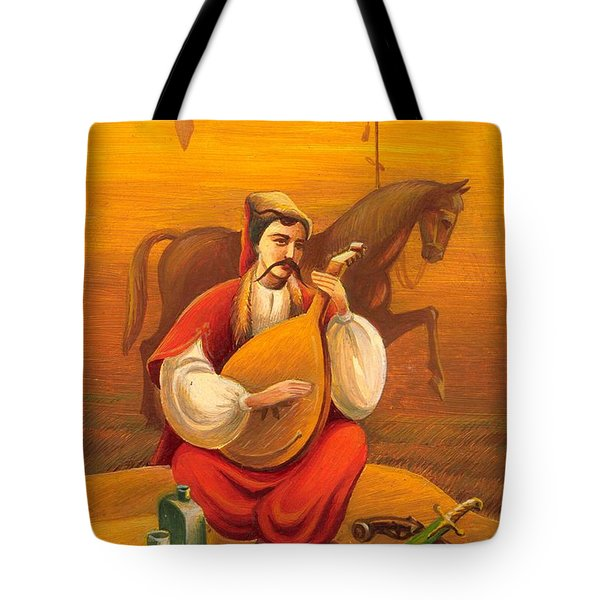 Cossack Mamay Tote Bag
