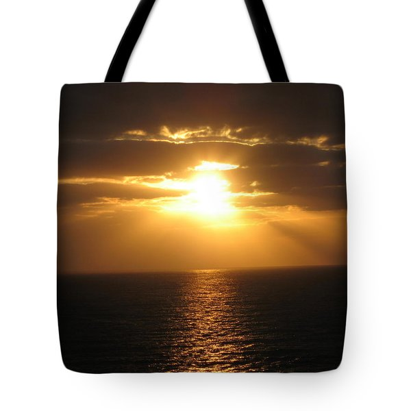 Tote Bag featuring the photograph Cozumel Mexico Sunset by Jean Marie Maggi