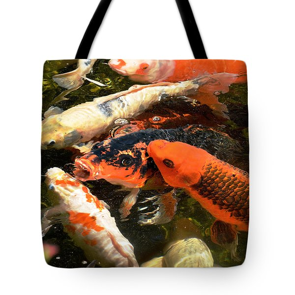 Cozy Koi Tote Bag
