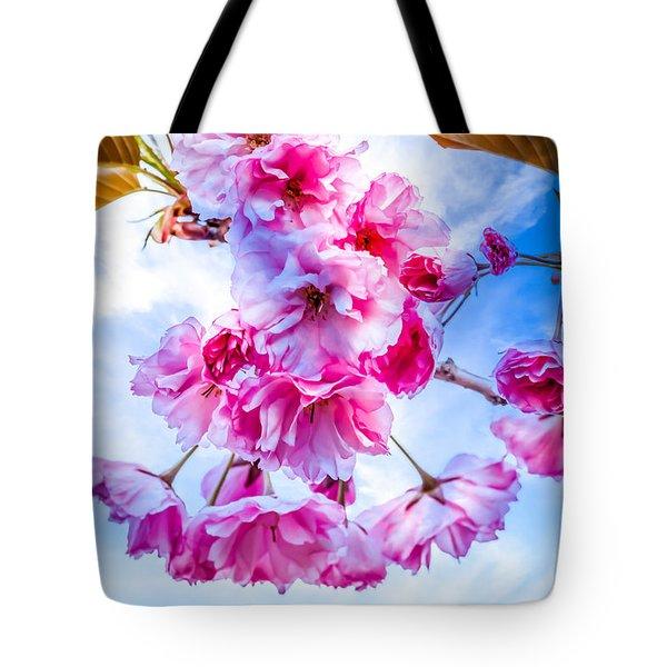 Crabapple Impressions Tote Bag by Bob Orsillo