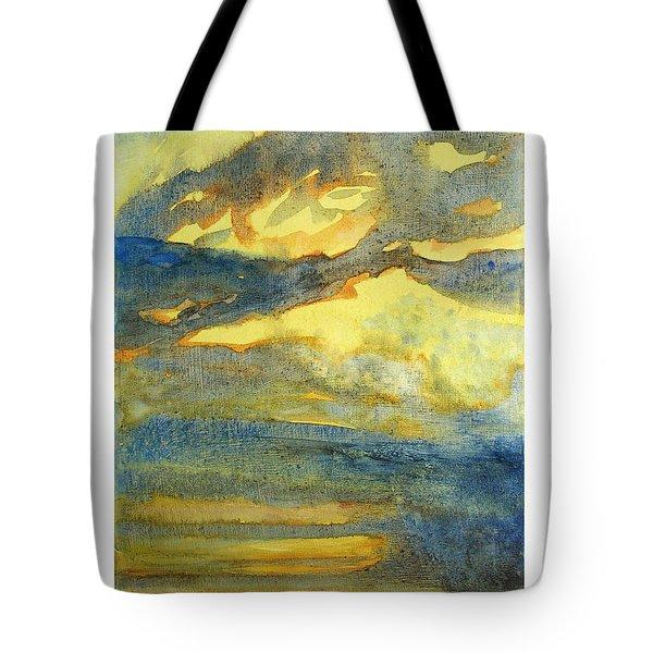 Crack The Sky Iv Tote Bag