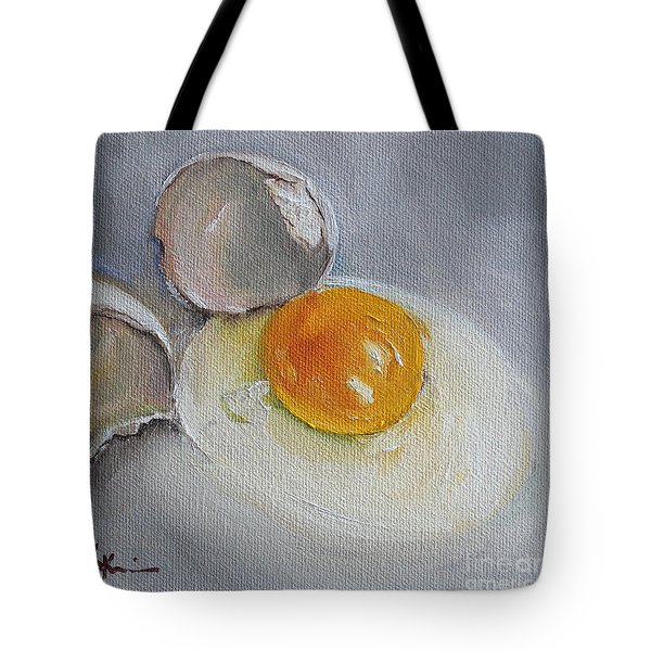 Cracked Egg Tote Bag