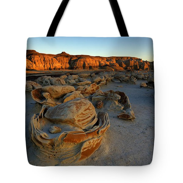 Cracked Eggs In The Bisti Badlands  Tote Bag