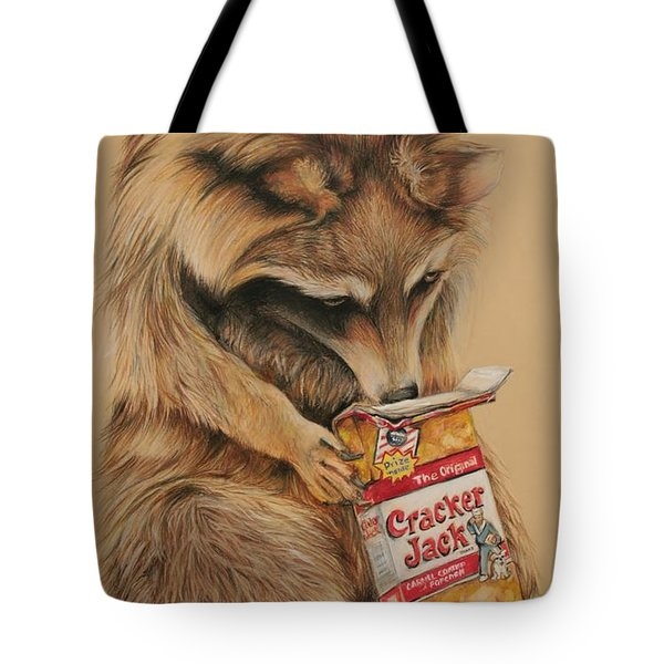 Cracker Jack Bandit Tote Bag