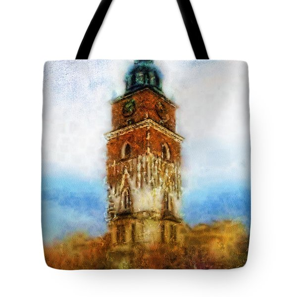 Cracov City Hall Tote Bag by Mo T