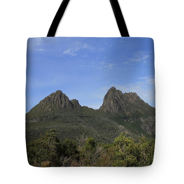 Cradle Mountain Tasmania All Profits Go To Hospice Of The Calumet Area Tote Bag