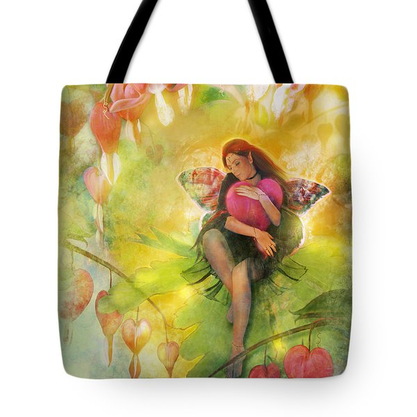 Cradle Your Heart Tote Bag by Aimee Stewart