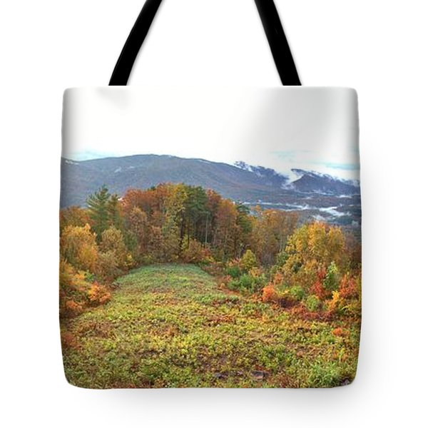 Craggy Sunrise Tote Bag